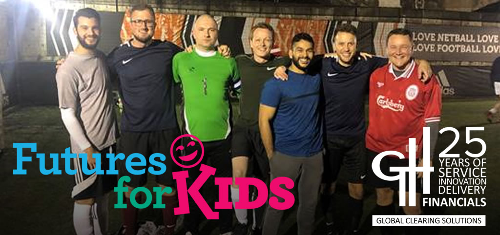 Futures for Kids Annual Five a Side football tournament - Team G. H. Financials