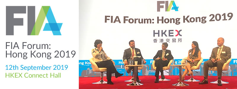 G. H. Financials supported and participated in the FIA Forum: Hong Kong 2019