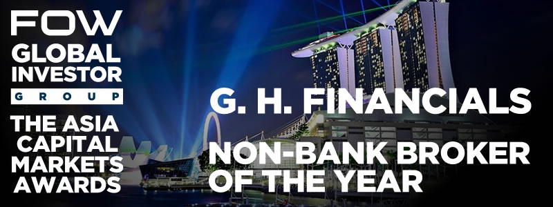 G. H. Financials named as Non Bank Broker of the Year 2019